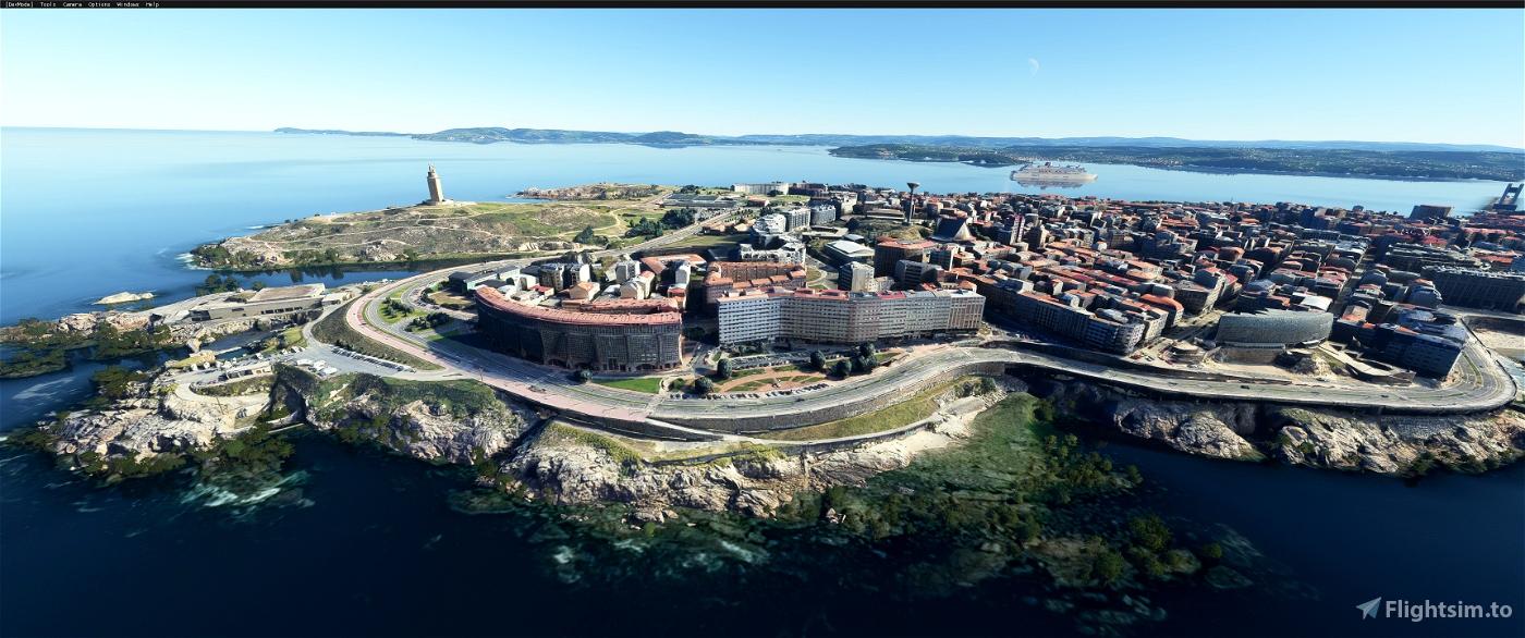 A Coruna,The galicia region of  Northwest Spain