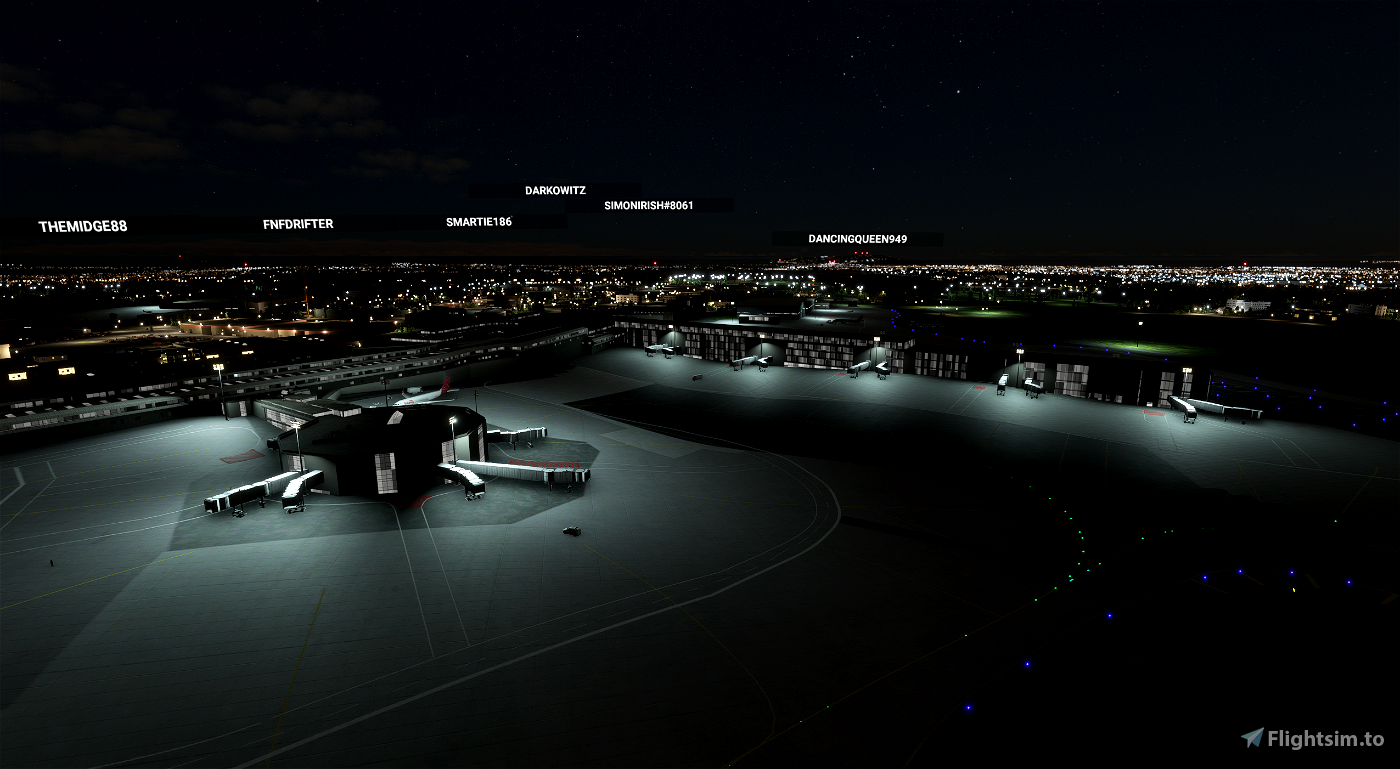 EIDW Dublin International Llighting-fix Flight Simulator 2020