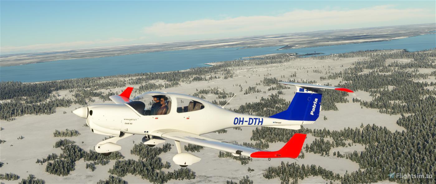 DA40 Patria Pilot Training