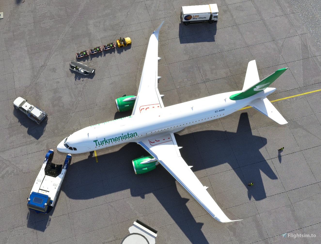 Turkmenistan Airlines Airbus A320neo