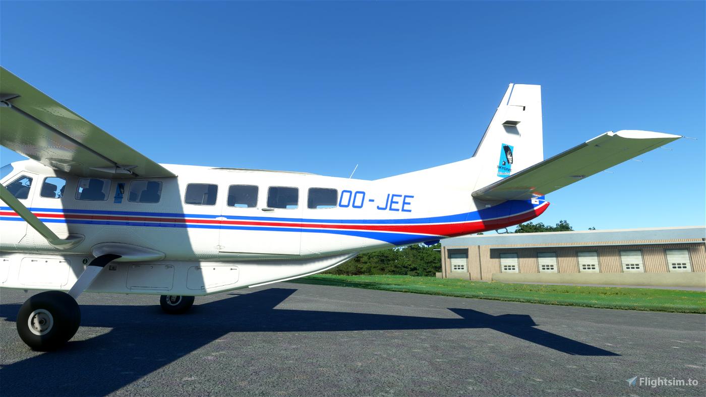 Cessna 208 B Skydive Flanders [4K]