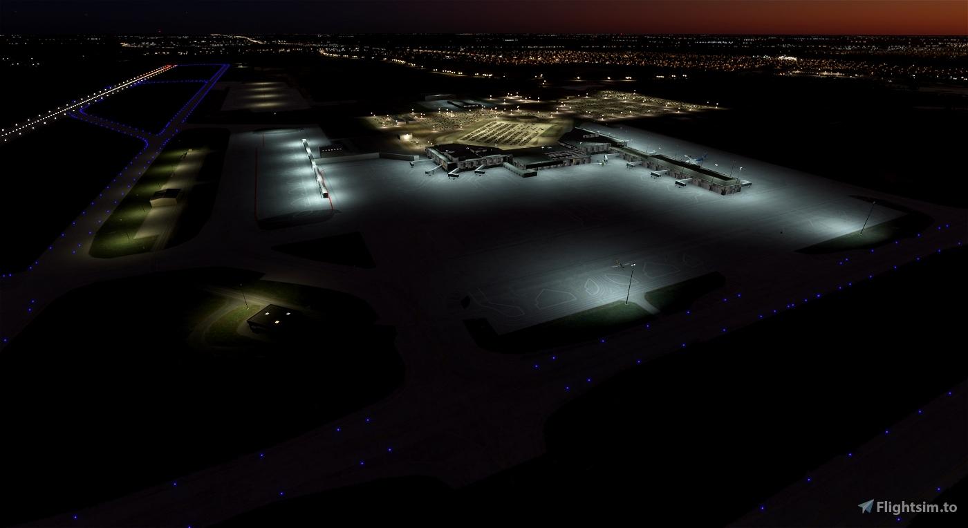 Budapest LHBP (Lights Enhancement) Flight Simulator 2020