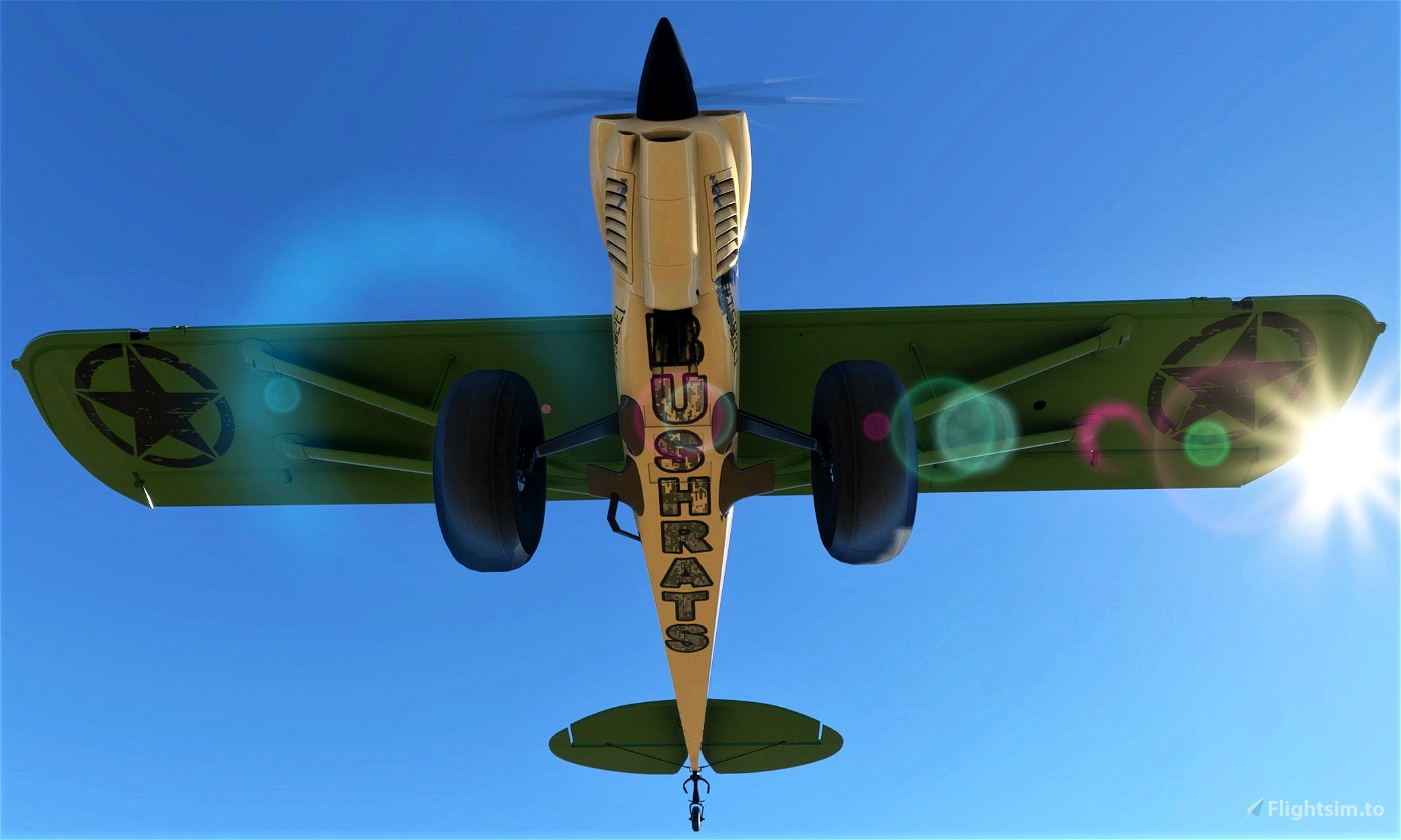 Bushrats Flying Club Liveries Flight Simulator 2020