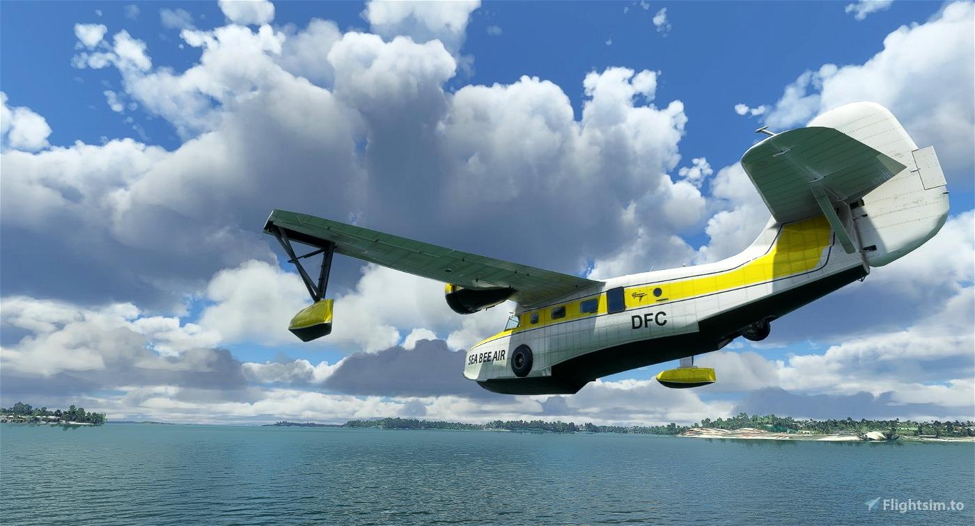 Grumman Goose ZK-DFC Sea Bee Air Flight Simulator 2020