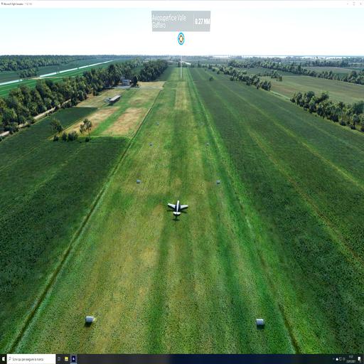 LIGP  Aviosuperficie Valle Gaffaro Flight Simulator 2020