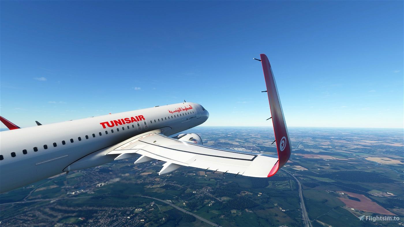 Tunisair A320neo • Flight Simulator 2020
