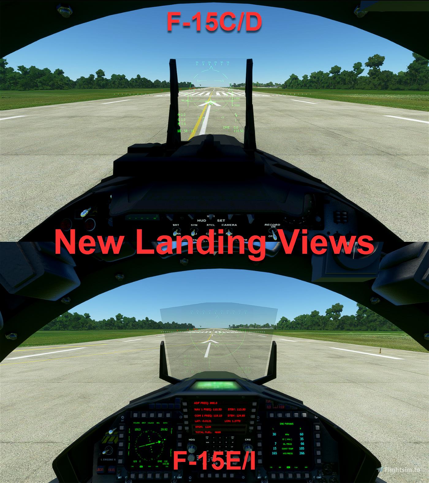 F-15C/D/E/I Better Cameras