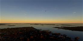 Islands of Casco Bay flight plan Image Flight Simulator 2020