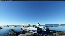 Gibraltar/Algeciras Bay, Algeciras Port and Gibraltar Airport enhancements Image Flight Simulator 2020