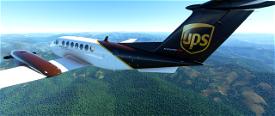 Kingair 350i UPS edition Image Flight Simulator 2020
