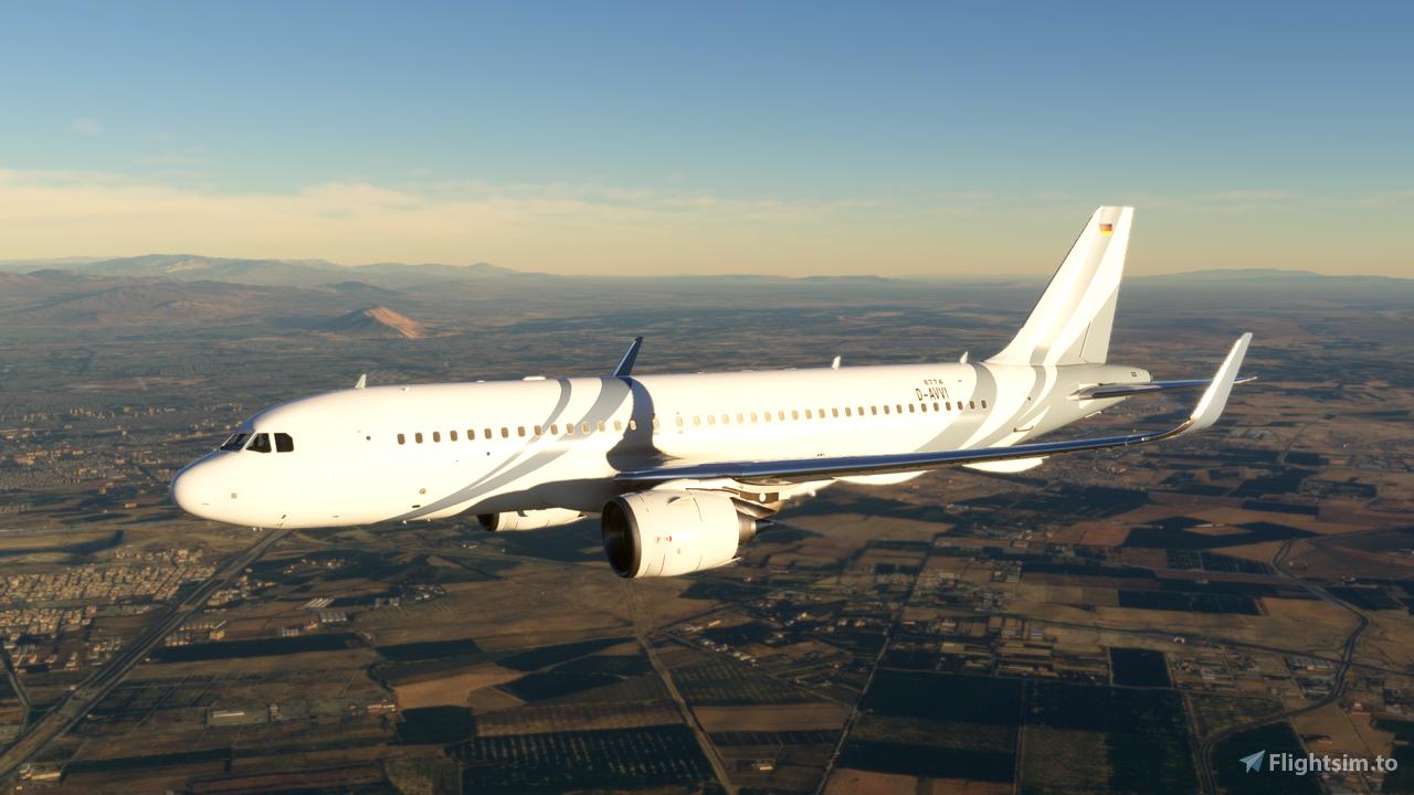 T7-HHH A320 Neo - 8K Flight Simulator 2020