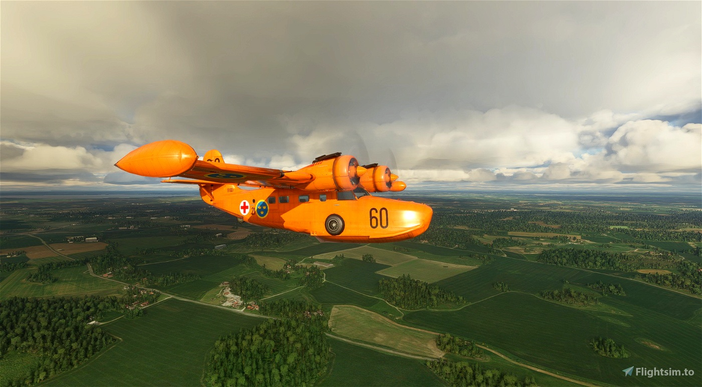 Grumman Goose Swedish Air Force Flight Simulator 2020