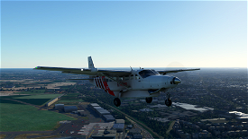 Cessna 208B Grand Caravan Air Antwerp Image Flight Simulator 2020
