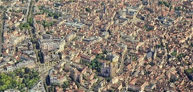 Dijon city & LFSD airport Microsoft Flight Simulator