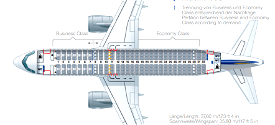 Lufthansa A320 CabinLayout for SLC Microsoft Flight Simulator
