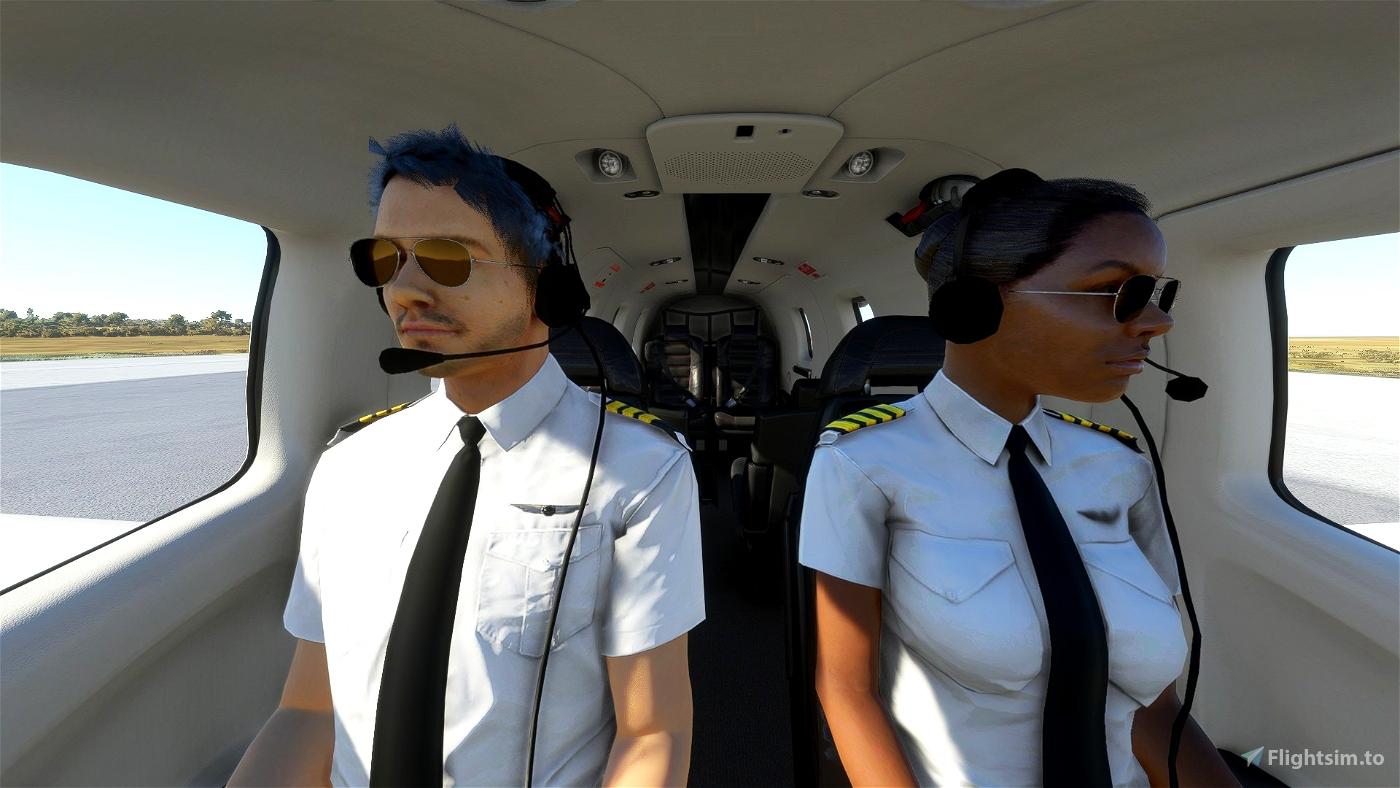 8K pilot uniforms