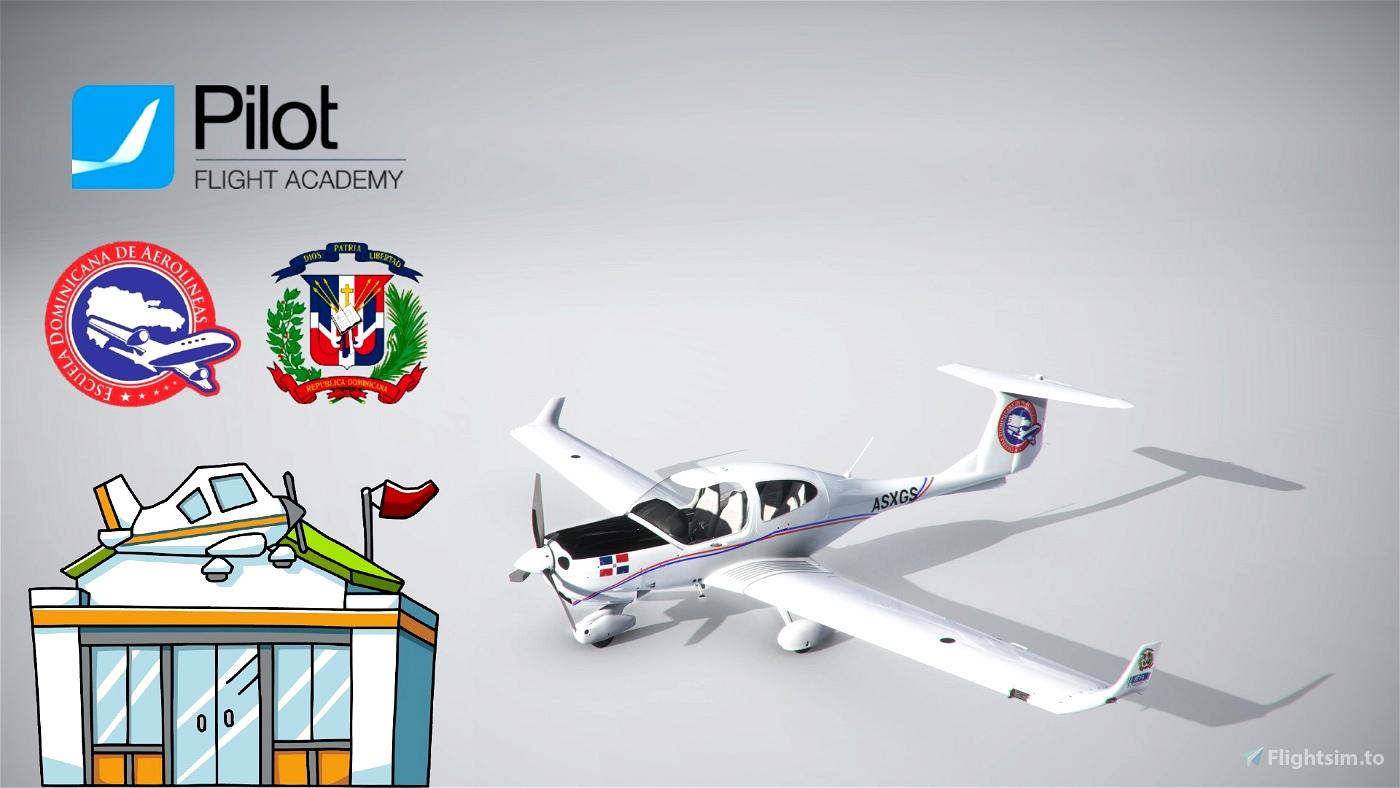 Dominican Fly Academy | 4K Microsoft Flight Simulator