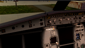 TAP Selcal Code Plate for A32NX Image Flight Simulator 2020
