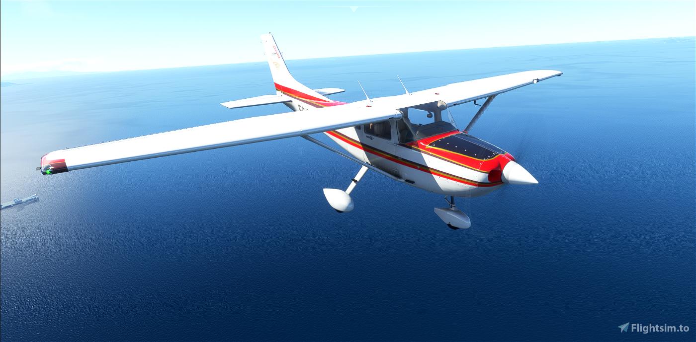 Carenado Cessna 182 PH-HLF