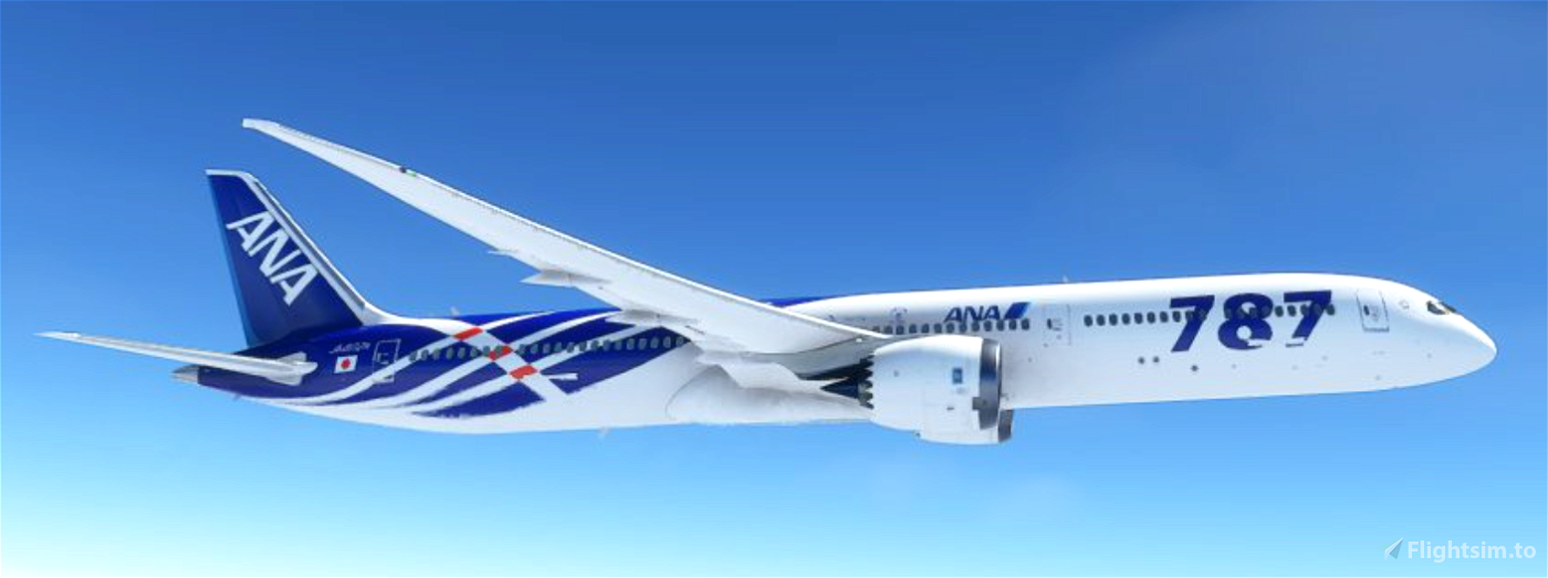 B787 ANA [SABA] Microsoft Flight Simulator