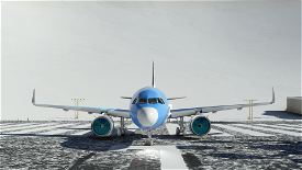 Livrée A320neo G-AIR (Geek Airline) Image Flight Simulator 2020