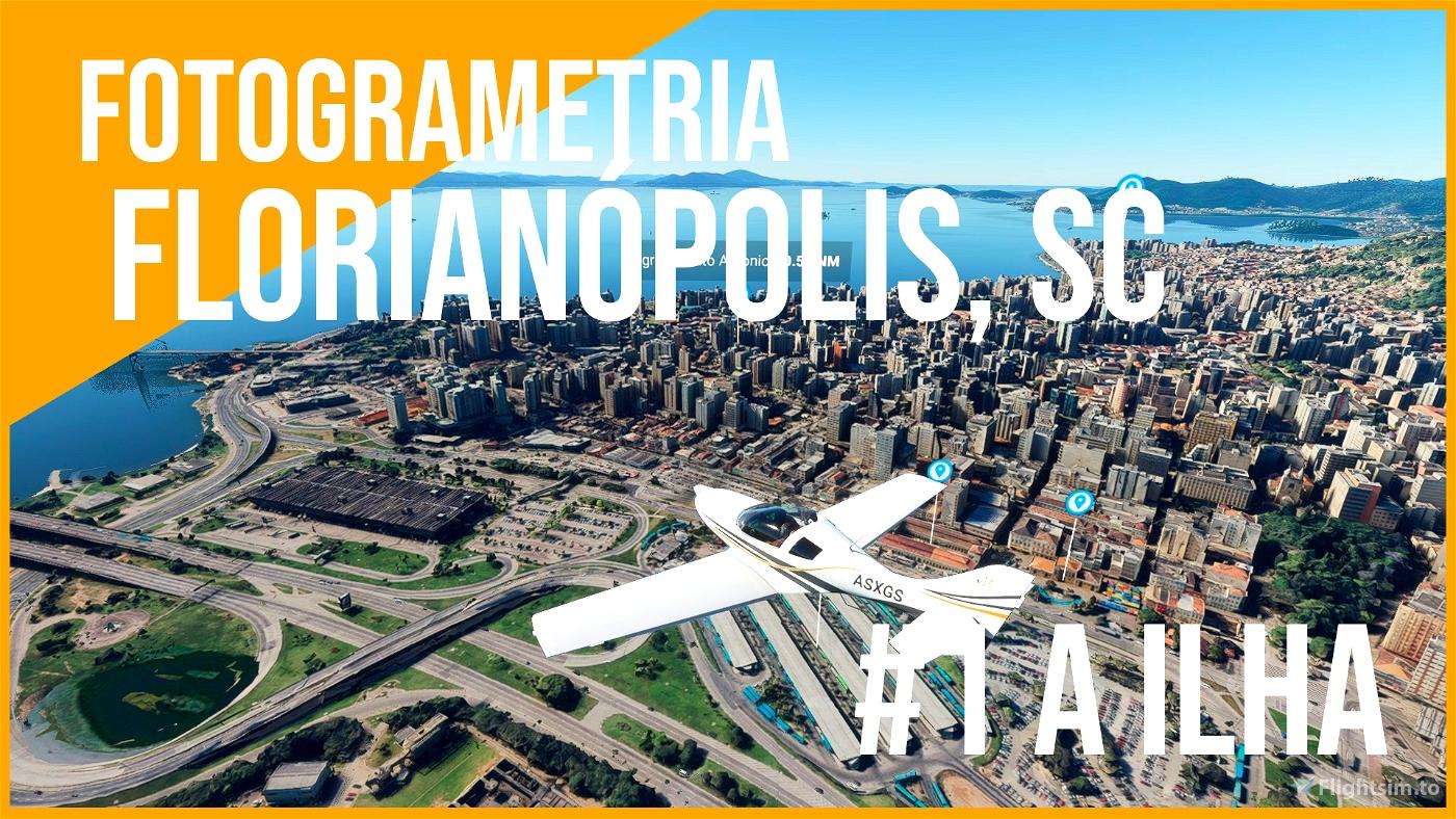 FLORIANÓPOLIS, SC - PARTE 1 | ILHA Flight Simulator 2020