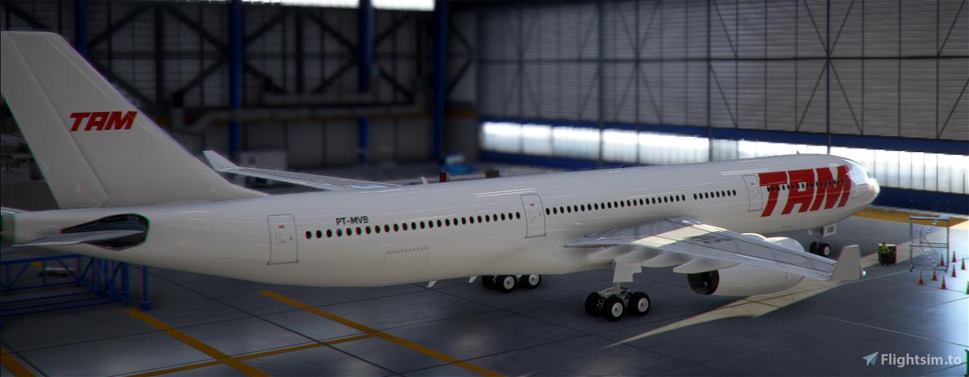 TAM PT-MVB White Livery A330-300