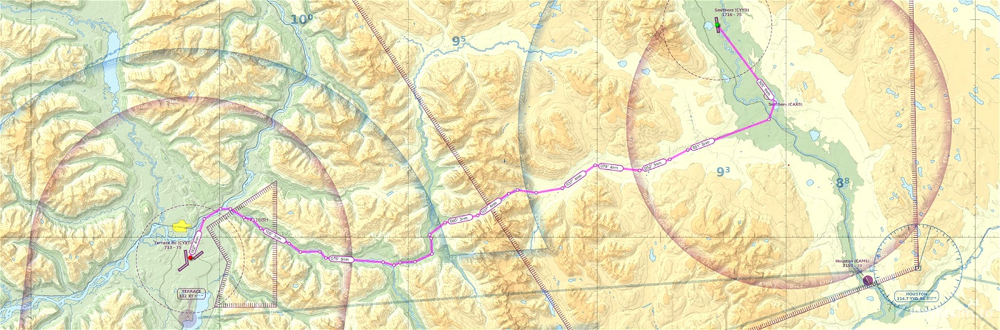 Map smithers bc Smithers lags