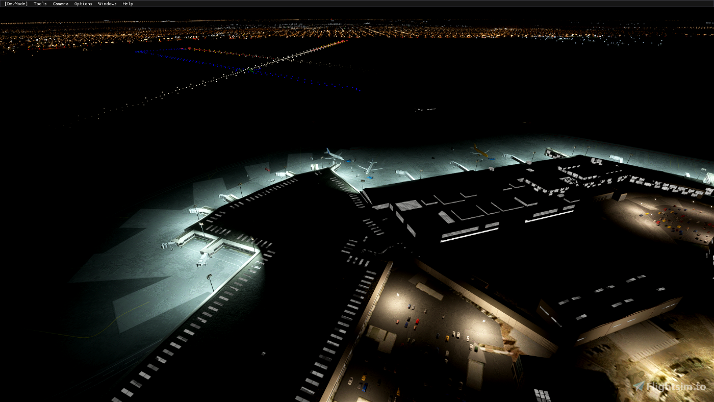 Airports Lights