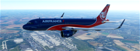 A320neo Air France fictitious concept livery 03 Image Flight Simulator 2020