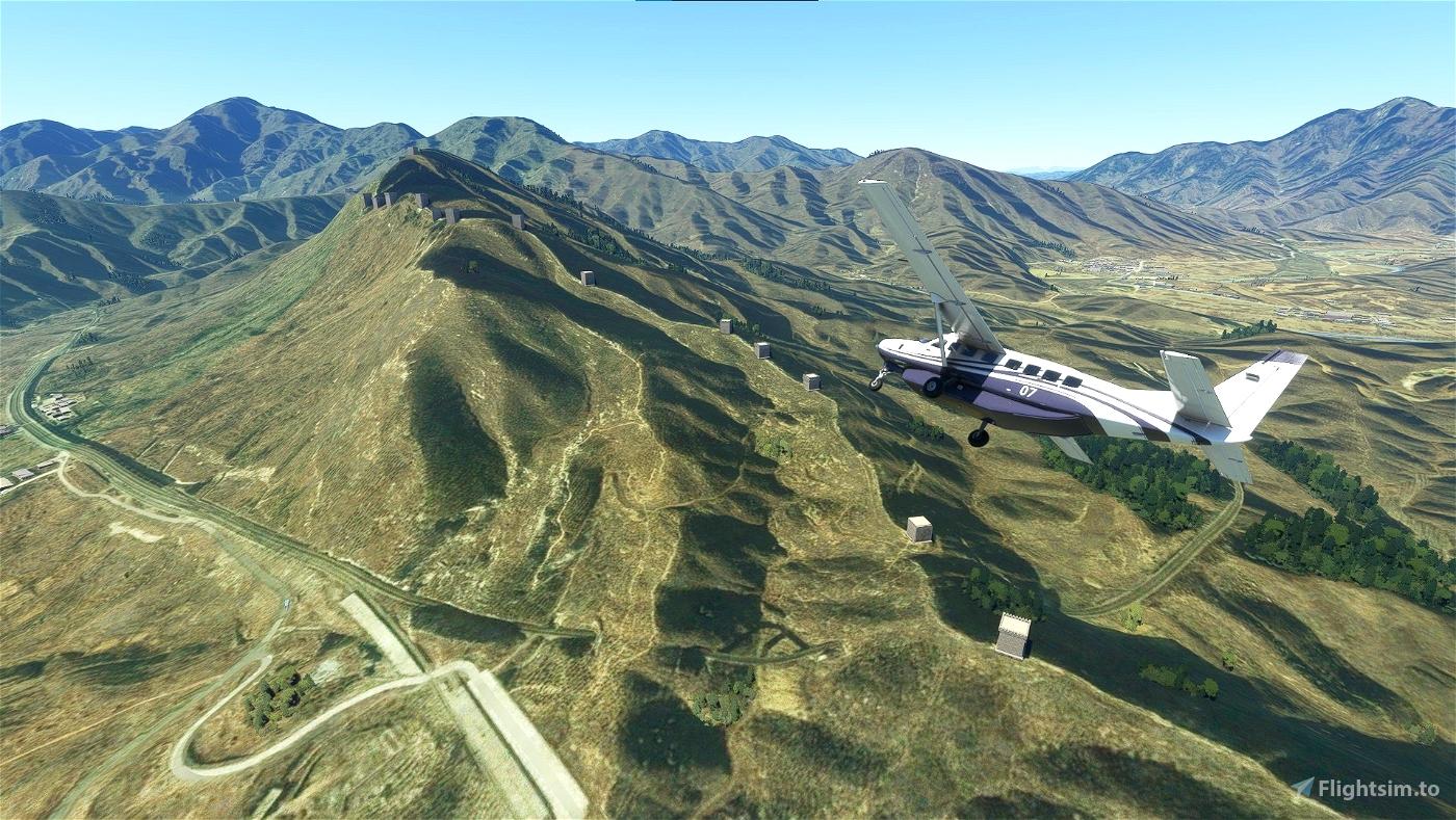 The Great Wall of China Flight Simulator 2020