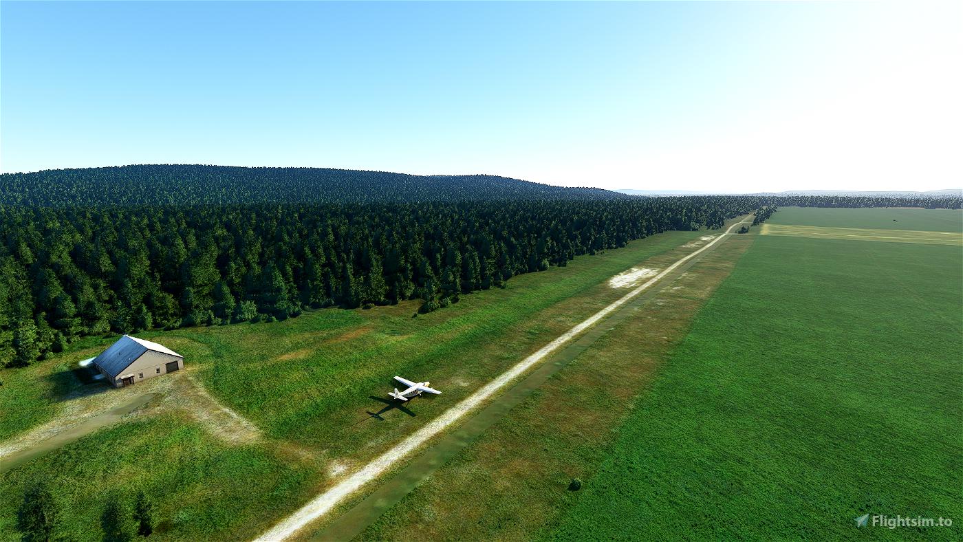 EN10 - Haslemoen airstrip, Norway