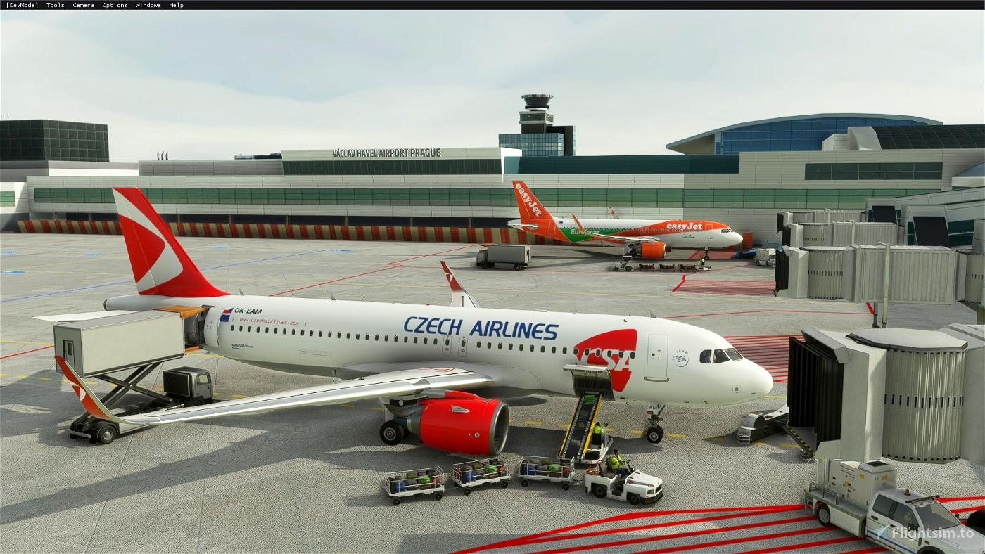 A320 NEO ČSA (Czech Airlines) Livery
