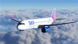 [A32NX] [8K] Sky Express Airlines (SX-TEC) Image Flight Simulator 2020
