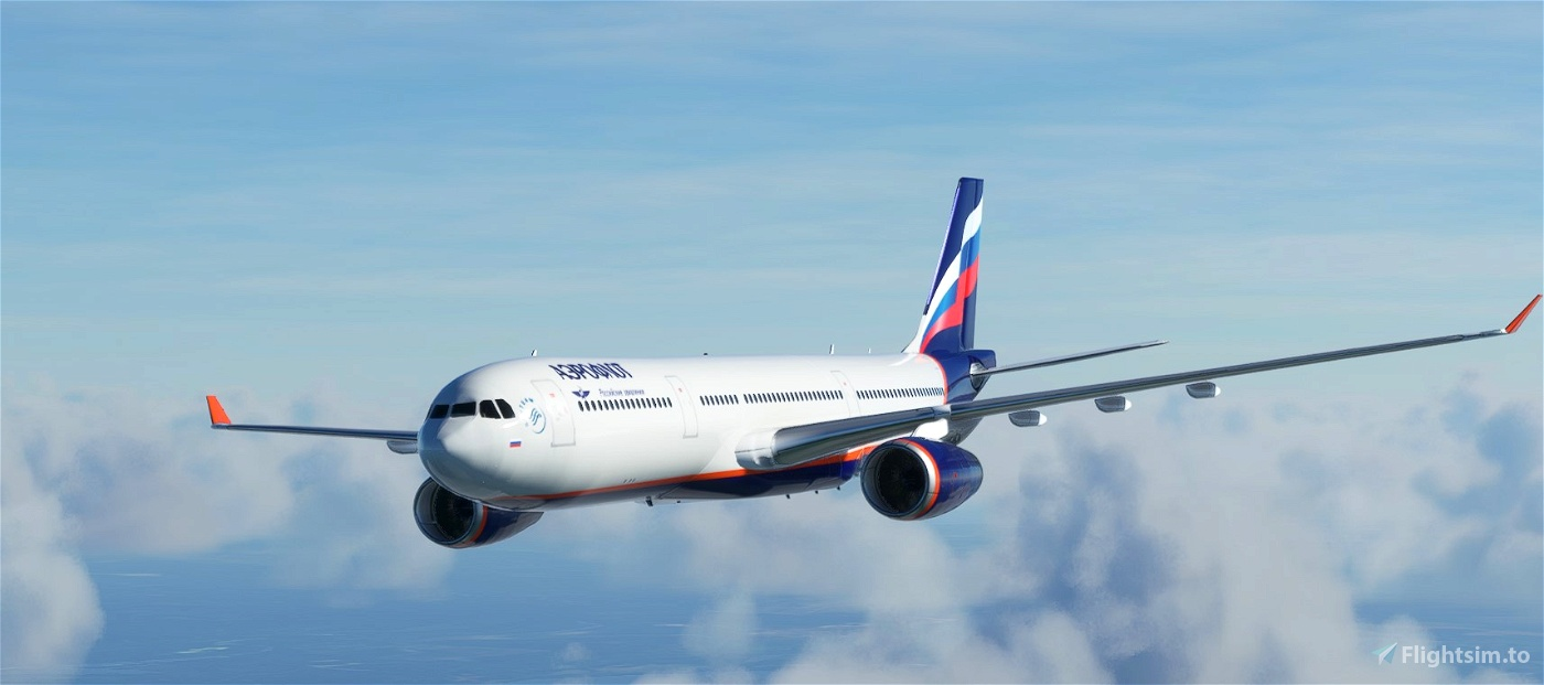 A330 Aeroflot  Flight Simulator 2020