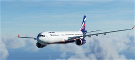 A330 Aeroflot  Image Flight Simulator 2020