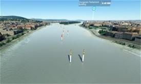 AirRace Budapest, Hungary (RedBull type) Image Flight Simulator 2020
