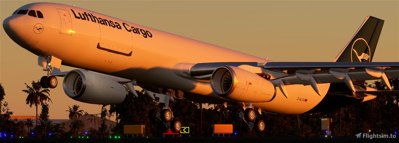 Lufthansa Cargo New Livery   PMP a330-300F [8K]