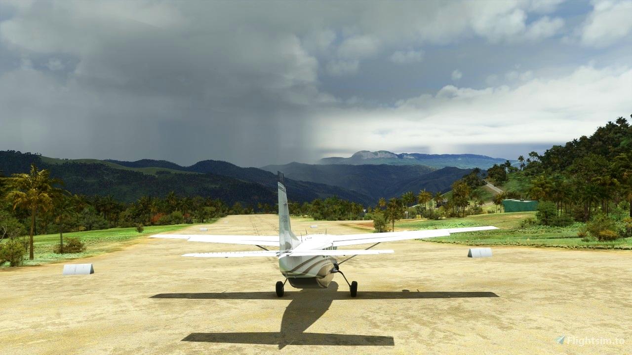 bush airstrip AYBI Yobai Flight Simulator 2020