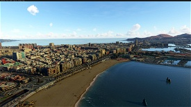 Las Palmas de Gran Canaria, Islas Canarias, Spain Microsoft Flight Simulator