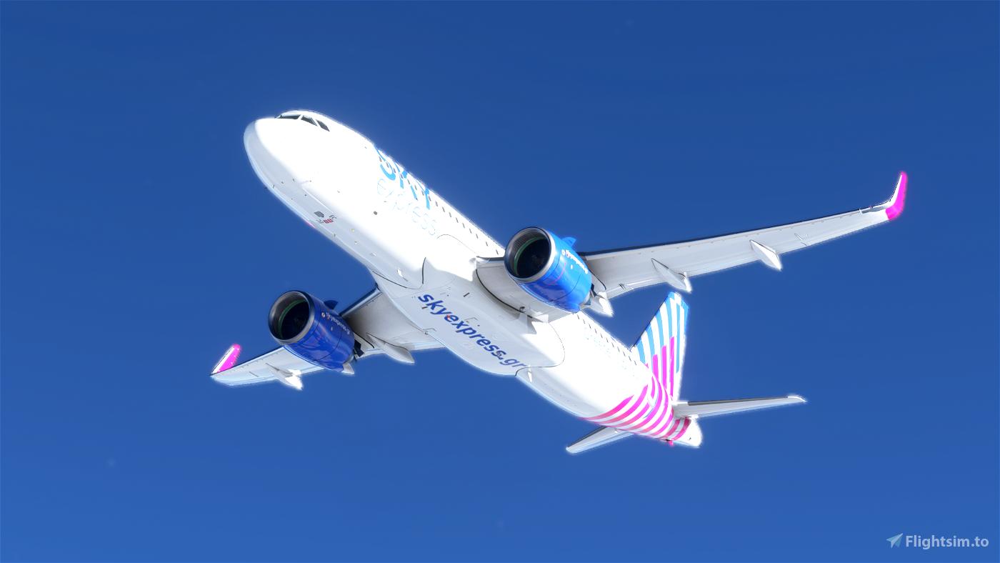 [A32NX] [8K] Sky Express Airlines (SX-TEC)