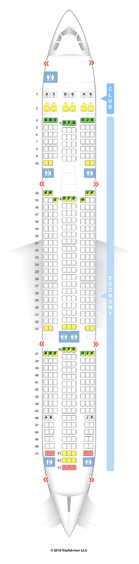 LukeAirTool A330 Seat Plans Image Flight Simulator 2020