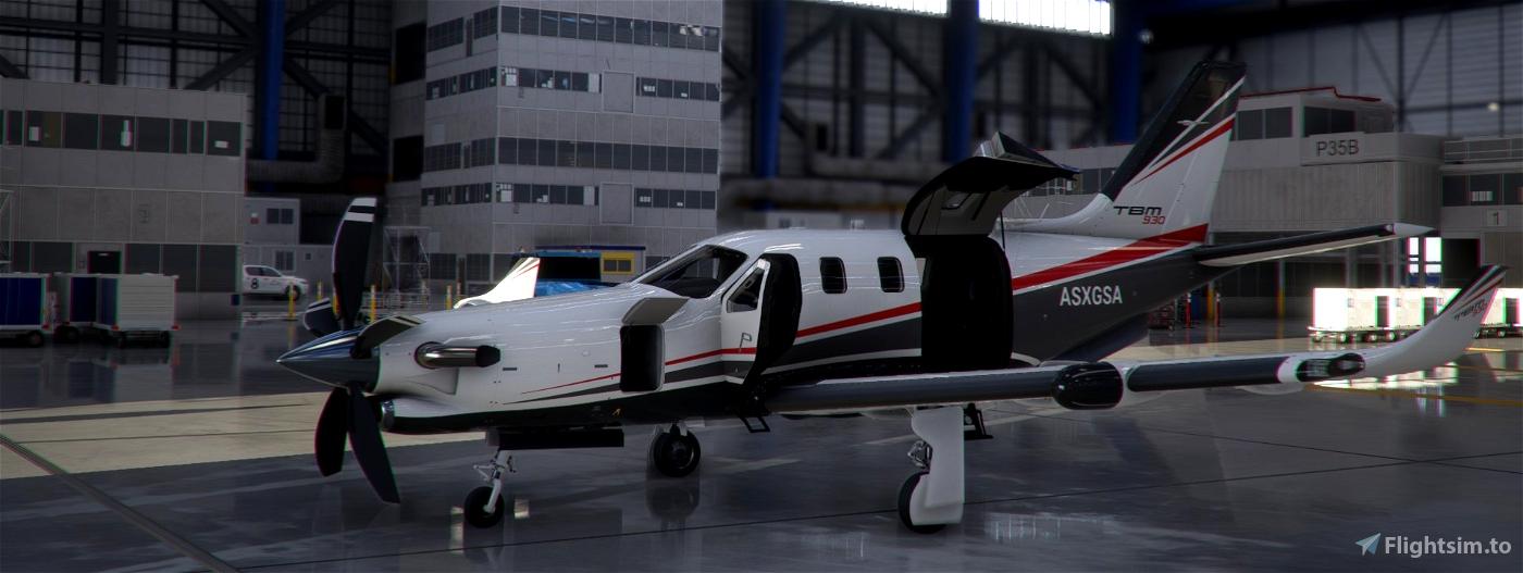 TBM930 Improvement Mod Microsoft Flight Simulator