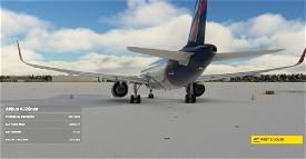 "Aeroflot 2019 ""brand image"" (based on A350) A320neo 8K Microsoft Flight Simulator"