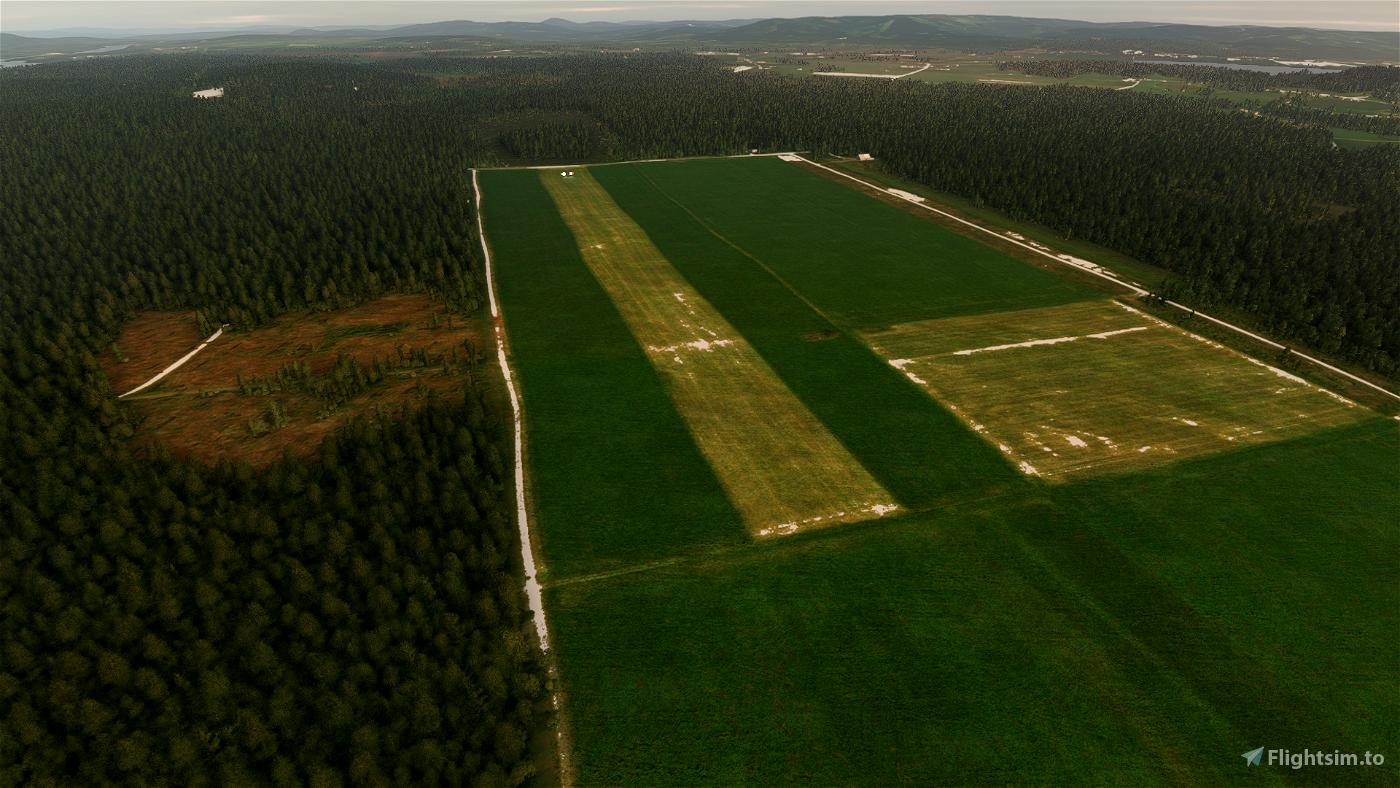 EN10 - Haslemoen airstrip, Norway Flight Simulator 2020