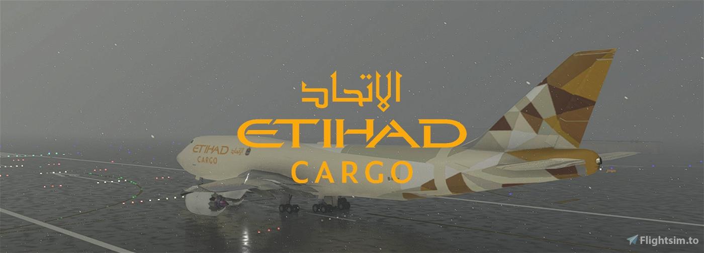 Etihad Cargo 747-8i Flight Simulator 2020