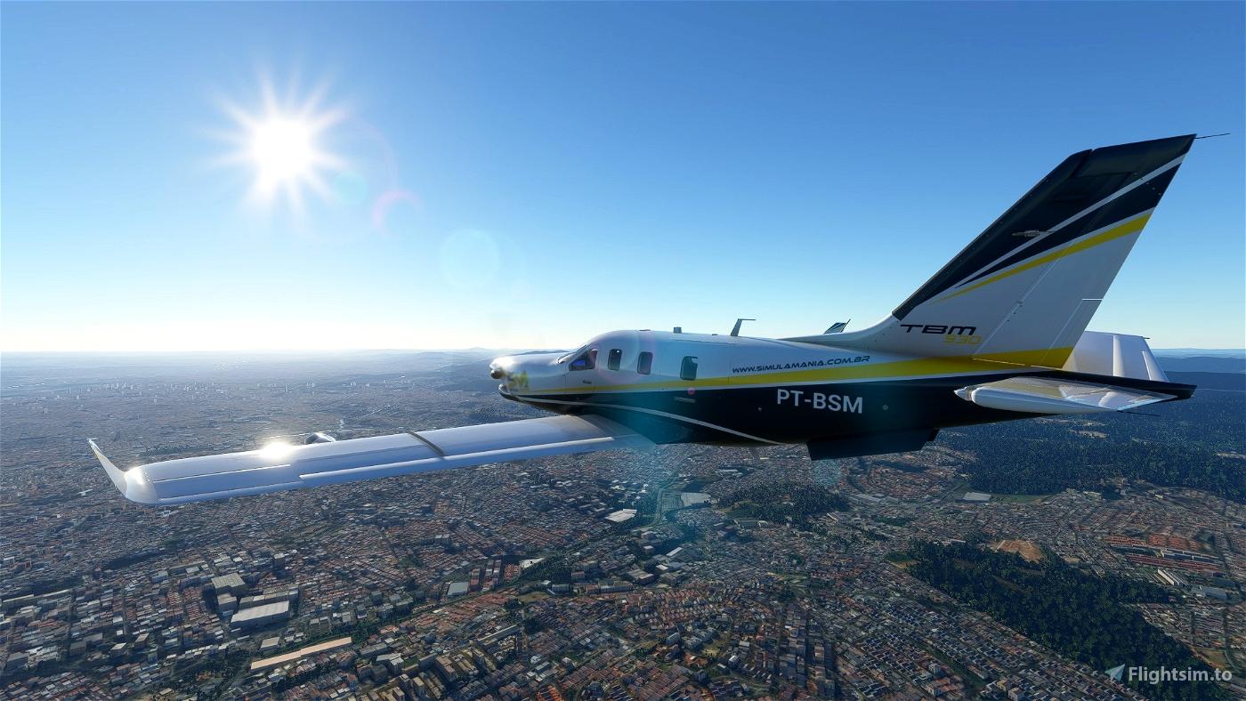 Simula Mania Daher TBM 930 Flight Simulator 2020