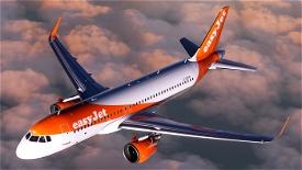 Easyjet A320 neo G-UZHN 8K Image Flight Simulator 2020
