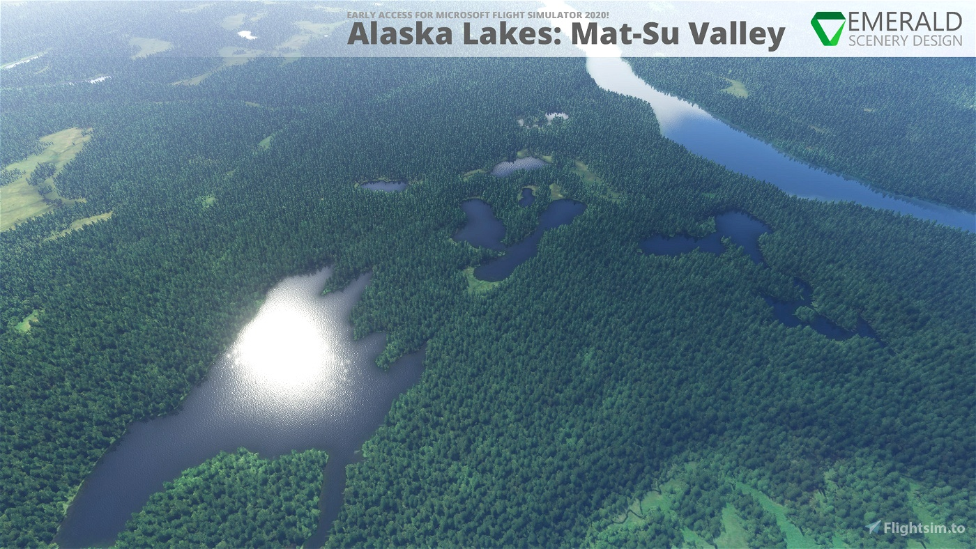 Alaska Lakes: Matanuska-Susitna Valley