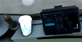 A32NX Coffee Cup - Aviators Livery Image Flight Simulator 2020